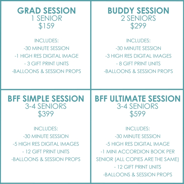 GRAD 2018 PACKAGES